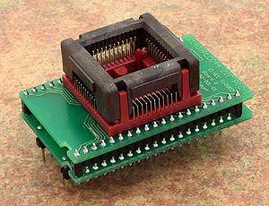 Elnec - DIL40/PLCC44 ZIF PIC-1 Adaptör Soketi