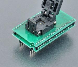 Elnec - DIL44/QFN44-2 ZIF-CS Adaptör Soketi