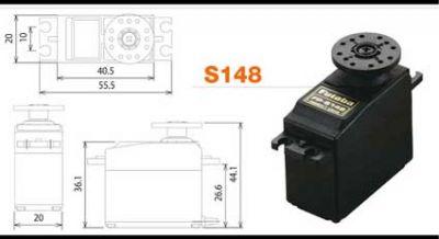 Futaba S148 - Servo Standard Precision