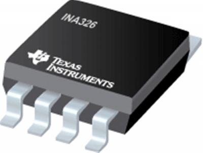 TEXAS INSTRUMENTS - INA326EA/2K5