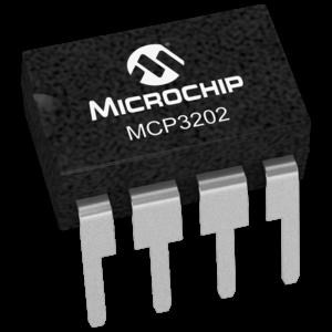 MICROCHIP - MCP3202-CI/P