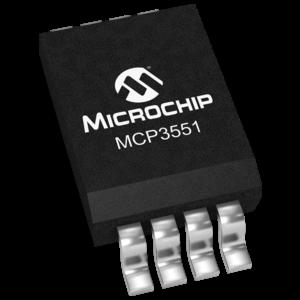MICROCHIP - MCP3551-E/SN