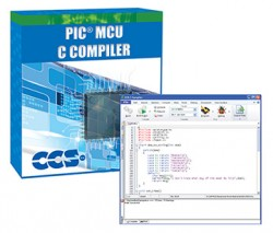 Ccs - Microchip PIC10/12/16/18 Entegreleri için PCWH IDE Derleyici