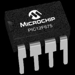 MICROCHIP - PIC12F675-I/P