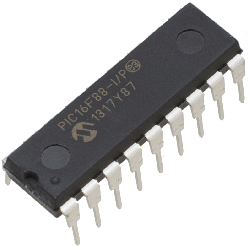 MICROCHIP - PIC16F88-I/P