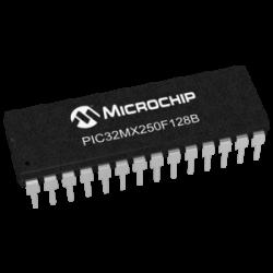 MICROCHIP - PIC32MX250F128B-50I/SP