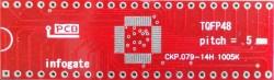 TQFP-48 > DIP-48 çevirici soket - Thumbnail