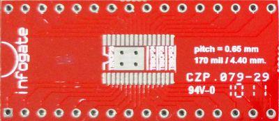 TSSOP-32/28/24/20/18/16 > DIP-32 çevirici soket