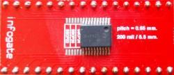 TSSOP-32/28/24/20/18/16 > DIP-32 çevirici soket - Thumbnail