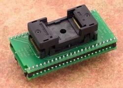 Elnec - DIL48/TSOP56 ZIF 18.4mm Flash-9 Adaptör Soketi
