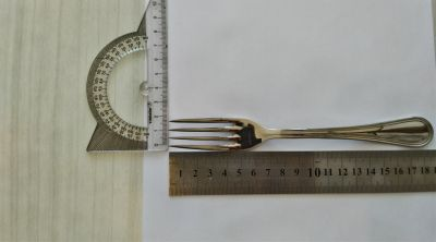 JAY Marka,1. Kalite Çelik, Çok Şık, Yemek Çatalı 12'li Set