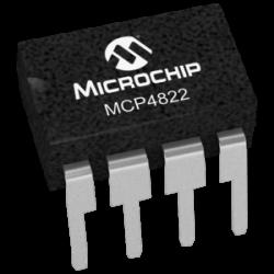 MICROCHIP - MCP4822-E/P