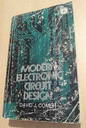 - Modern Electronic Circuit Design - DAVID J. COMER