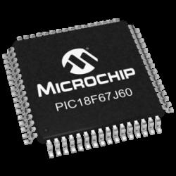 MICROCHIP - PIC18F67J60-I/PT