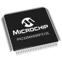 MICROCHIP - PIC32MX695F512L-80I/PF