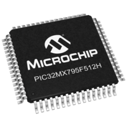 MICROCHIP - PIC32MX795F512H-80I/PT