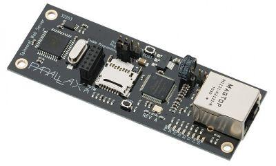 Spinneret Web Sunucu - 32 bit Propeller P8X32A tabanlı web sunucu modülü