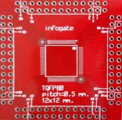 TQFP-80/100 > DIP-80/100 çevirici soket - Thumbnail